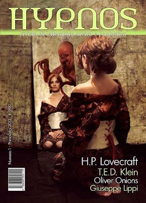 Hypnos. Vol. 1, Primavera 2013, copertina