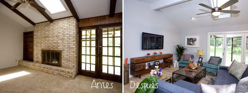 Decorar salones small&lowcost: antes y después1
