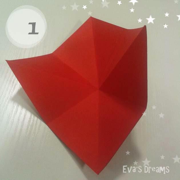 DIY: Origami Tannbaum 2.0 - Step1