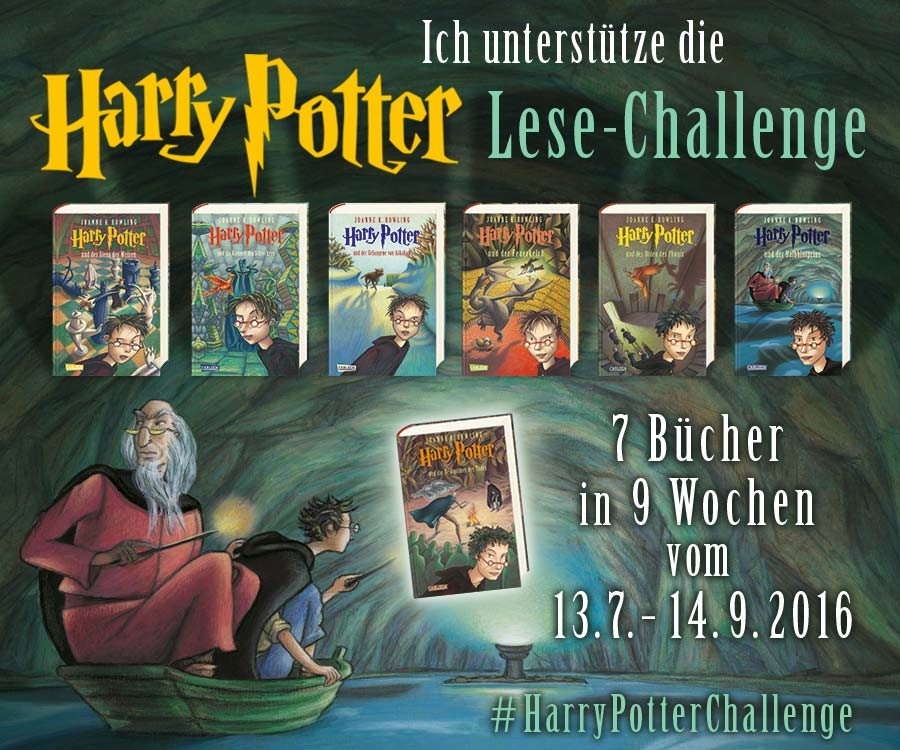 Harry Potter Lese-Challenge