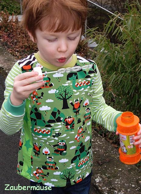 lillestoff Kinderstoff Wikinger aus GOTS Biostoff