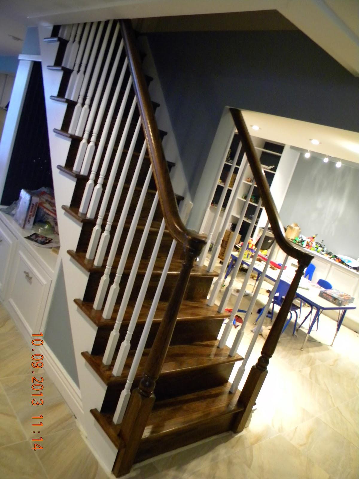 Wood Staircase Handrail Baluster Installer In Northeast Philadelphia