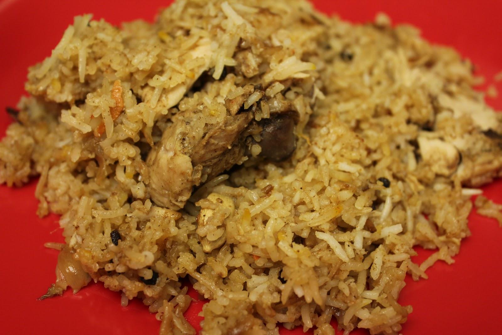 how to make biryani in slow cooker