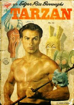 TARZAN Nº 032 1954 ESPANHOL