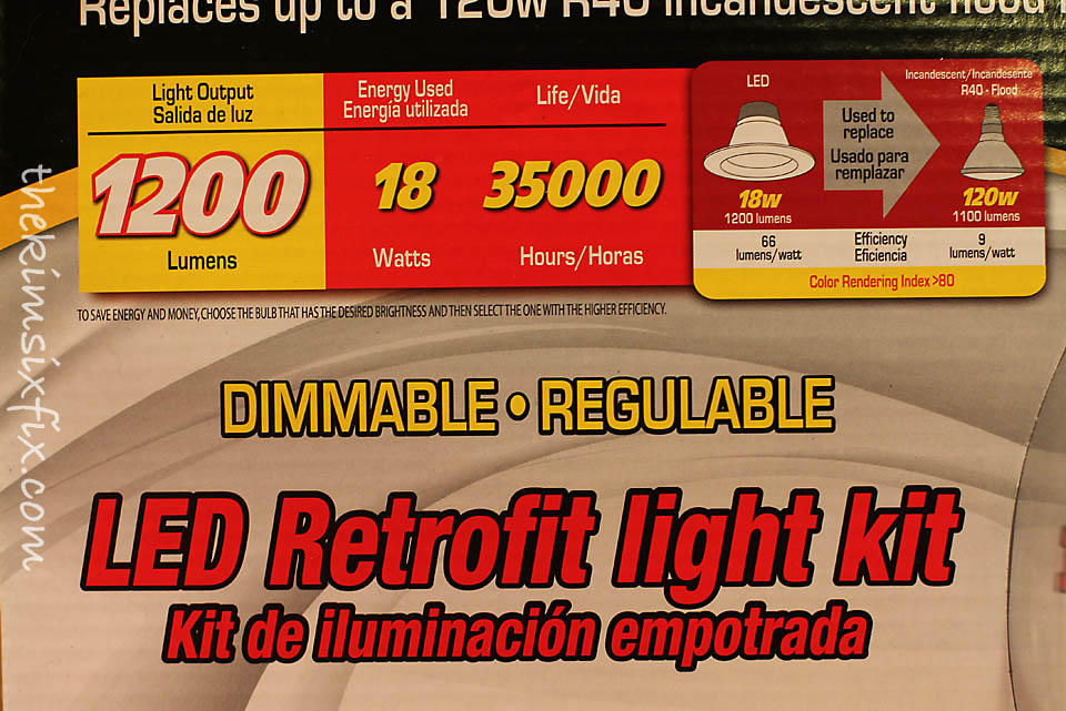 how to upgrade recessed lights to leds tutorial the kim six fix. Black Bedroom Furniture Sets. Home Design Ideas