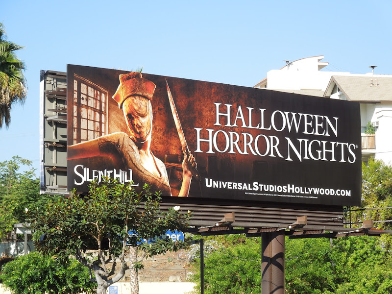 Universal Studios Halloween Horror Nights Silent Hill billboard
