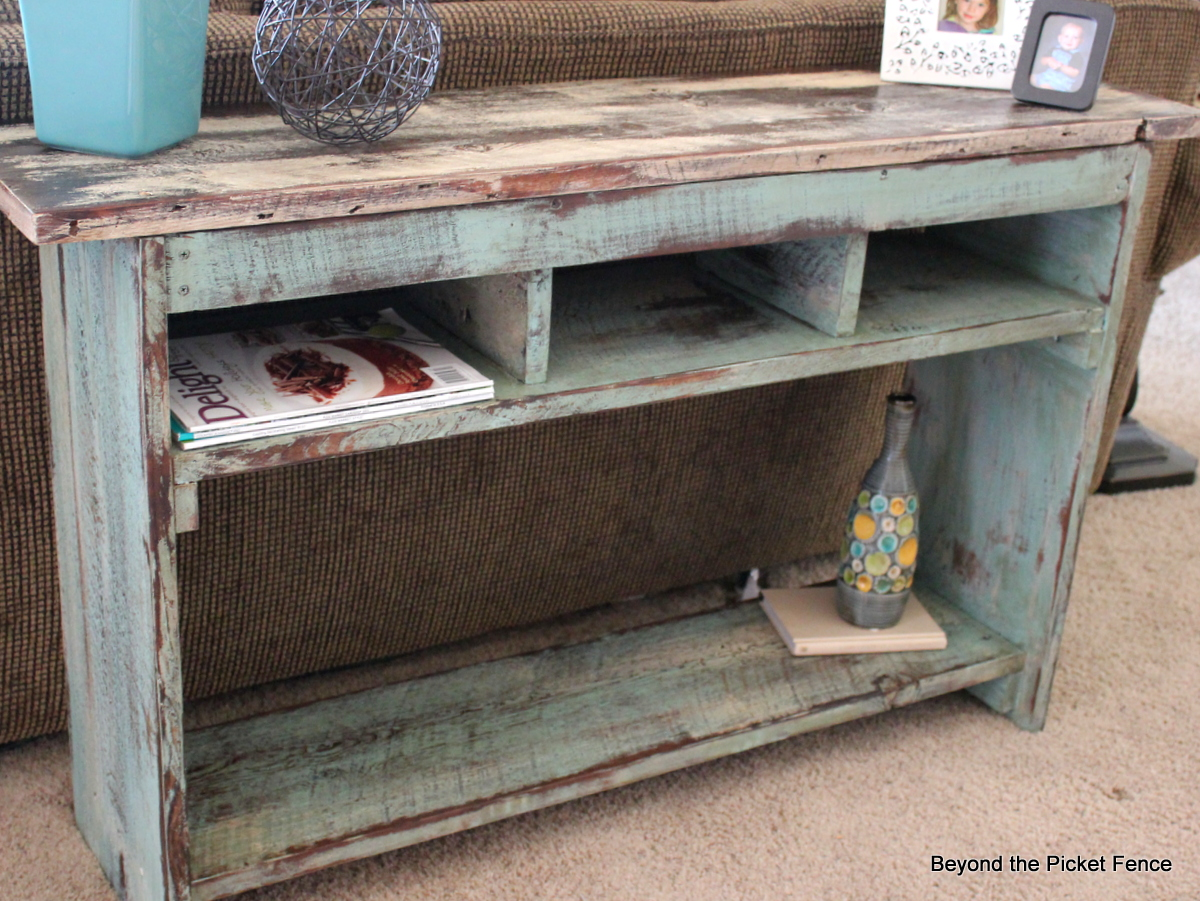 Beyond the Picket Fence Sofa Table