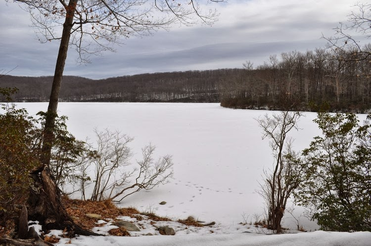 Harriman hiker harriman state park and beyond frozen for Harriman state park fishing
