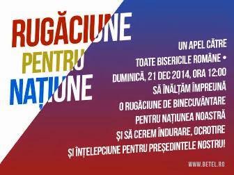 † Apel către toate bisericile române!