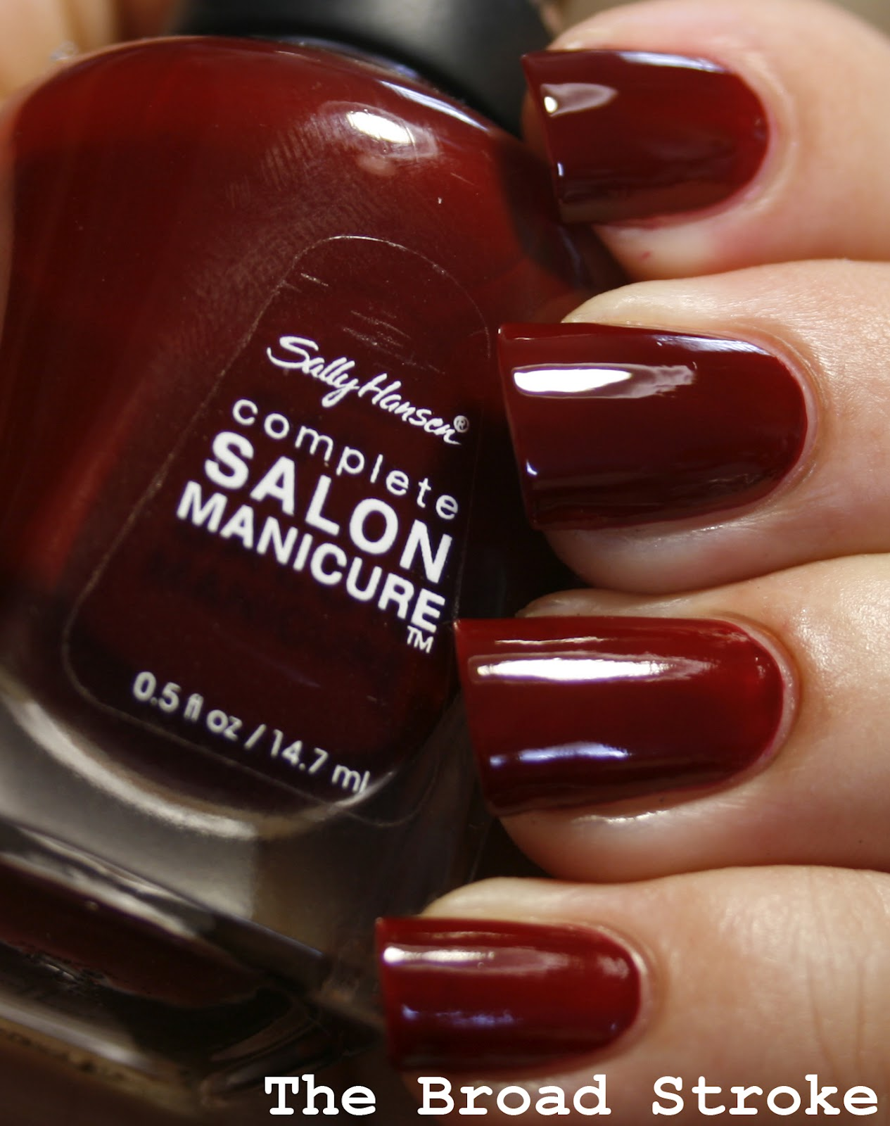 The Broad Stroke: My Favorite Polishes: Sally Hansen Red Zin