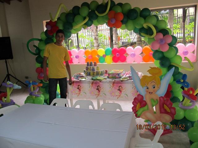 DECORACION CAMPANITA - TINKER BELL FIESTAS INFANTILES | Fiestas ...