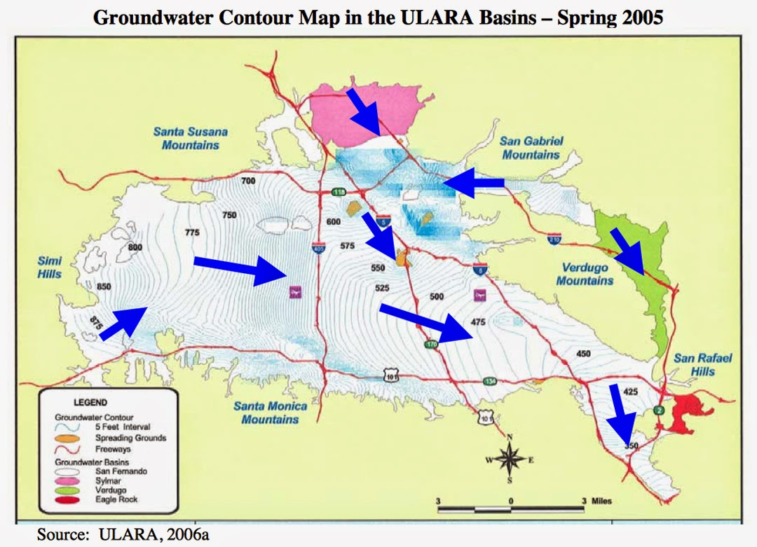 in addition portions of the aquifer have been for a number of years an epa designated superfund clean up site due to chemical contamination in the north