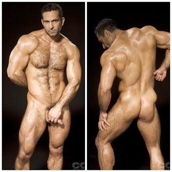 É muito musculoso e viril