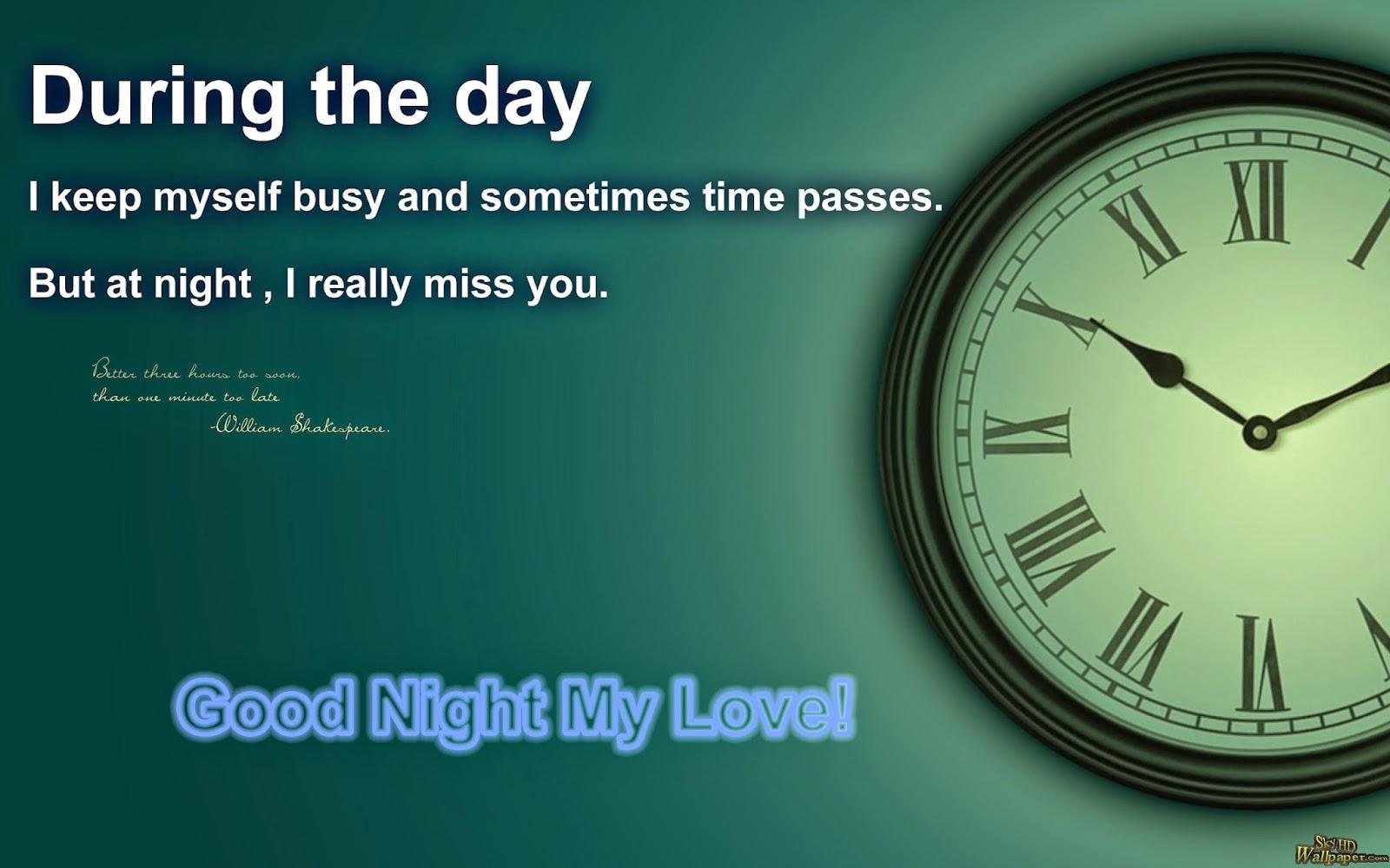 imagenes con frases de buenas noches ingles amor 8