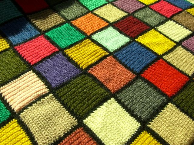 Malores manta colcha de ganchillo - Mantas ganchillo colores ...