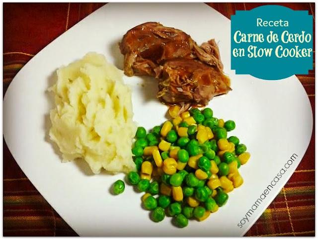 receta carne de cerdo en slow cooker recipe