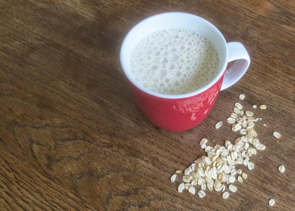 Hafermilch (Haferdrink aus Haferflocken)