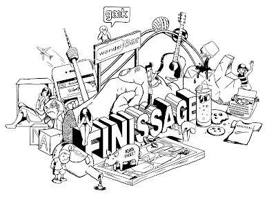 jo lott bachelor mediendesign finissage ausstellung johannes comic illustration style zeichnung