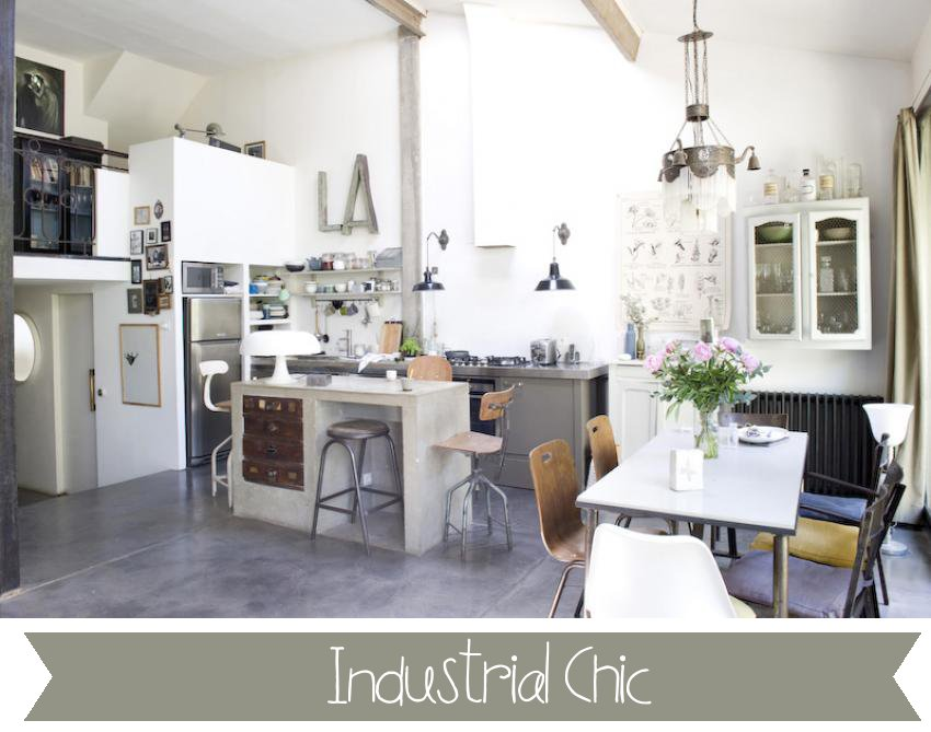 Industrial chic home shabby home arredamento interior for Arredamento industrial chic