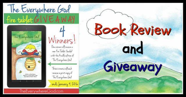 God, Giveway, The Everywhere God, Kindle, Fire
