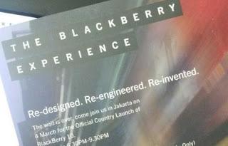Blackberry Z10 Hadir Di Indonesia 4 Maret 2013