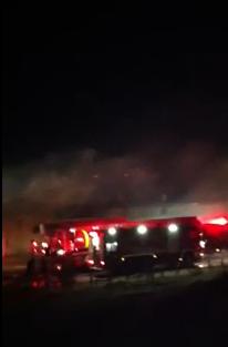 حريق في احد مصانع الجهراء 13-6-2012