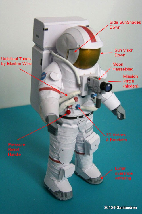 Astronaut Paper Project