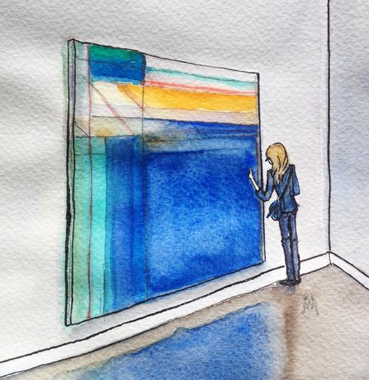 Richard Diebenkorn Ocean Park Series Exhibition