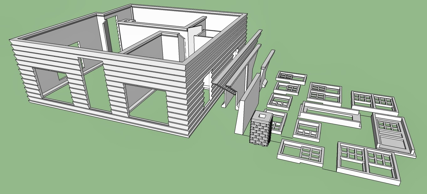3d printing house plans for 3d printer blueprints