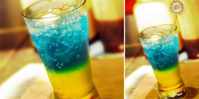 Minuman Segar Sky Blue Punch - Kali ini saya ingin berbagi sebuah