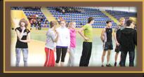 """Как Однокл""""А""""ссники состязались на школьном Дне спорта."""