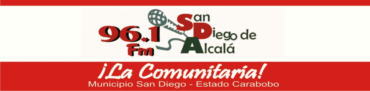 RADIO COMUNITARIA SAN DIEGO DE ALCALÁ 96.1 FM