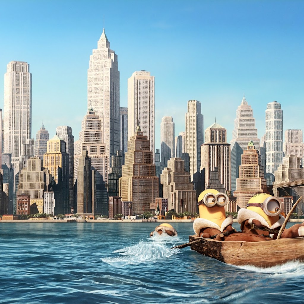 Minions in new york ultra hd walls wallpapers original preview wallpaper download wallpaper facebook covers voltagebd Images