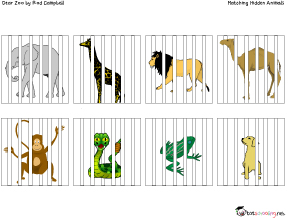 dear zoo free printable activity for toddlers - Toddler Activities Printables