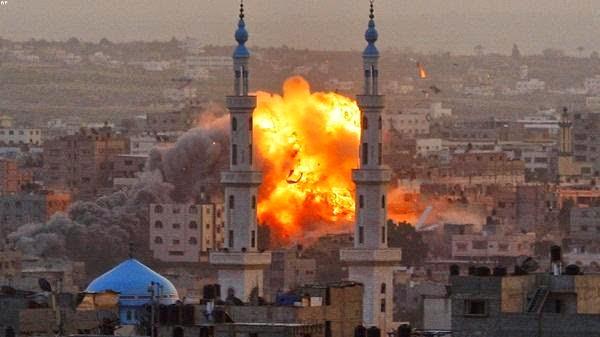 """""""الصحة بغزة"""":ارتفاع حصيلة العدوان الاسرائيلي الى 222 شهيدا و1670 جريحا"""