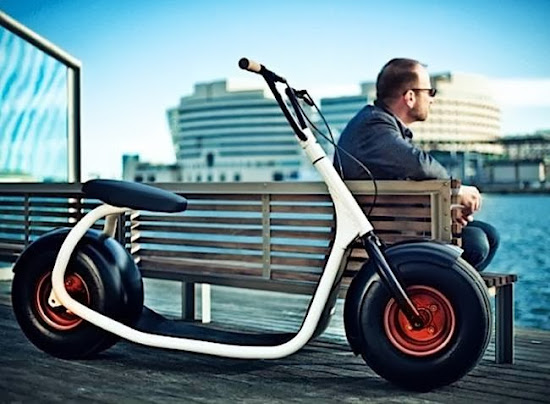 The Scrooser Electric Scooter