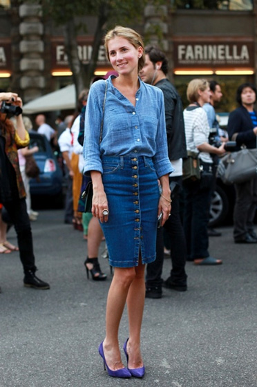 Denim pencil skirts pinterest – Modern skirts blog for you