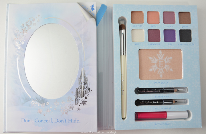 Disney Frozen Elsa Snow & Ice Beauty Book