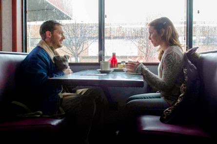 Tom Hardy and Noomi Rapace in The Drop