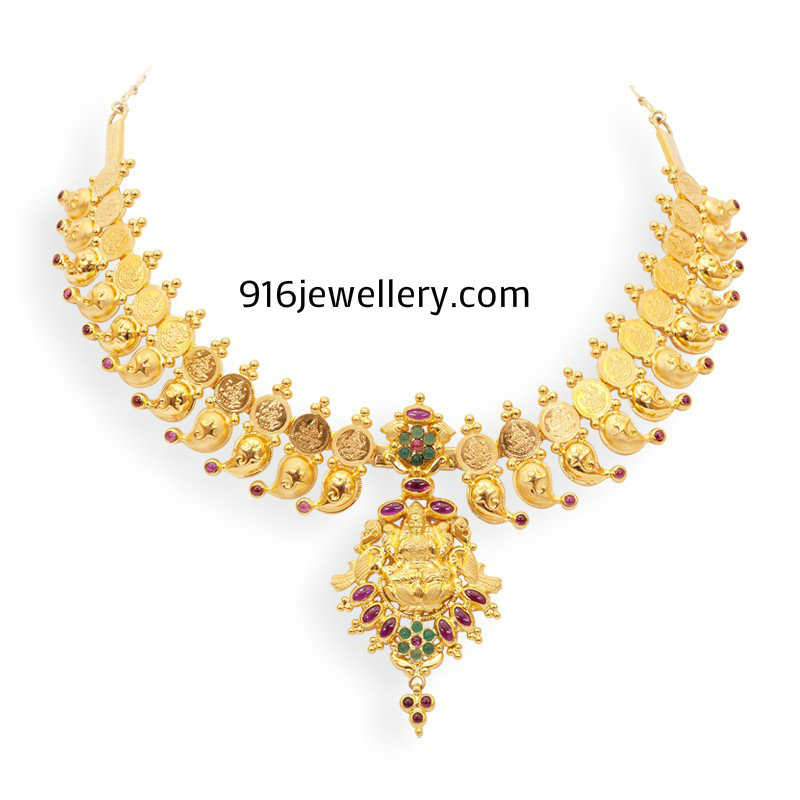 Gold Fancy Necklaces   SUDHAKAR GOLD WORKS
