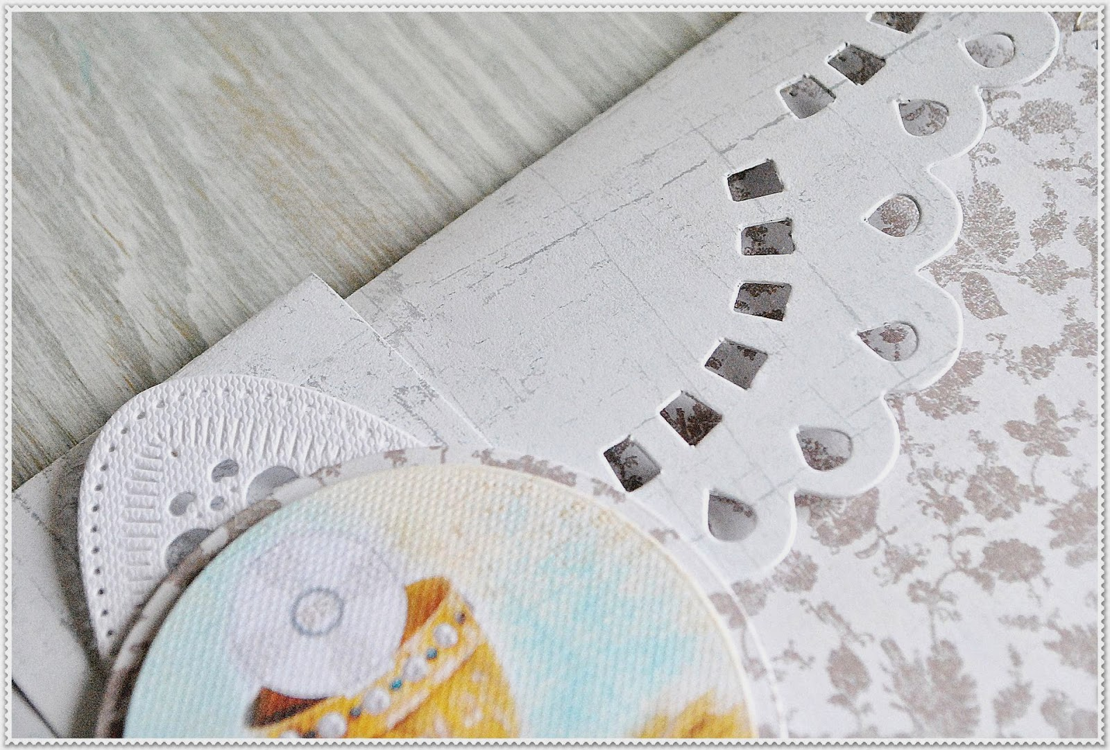 kartka kopertówka scrapbooking Sizzix Bigz Pro - Card, Long Decorative