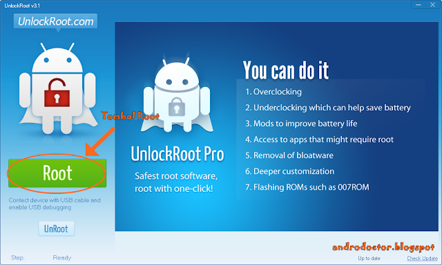 Cara ROOT & UNROOT semua jenis Android 6- Drio AC, Dokter Android