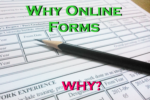 Why Online Forms? Best Online Form Creation websites (A Study : Part I)