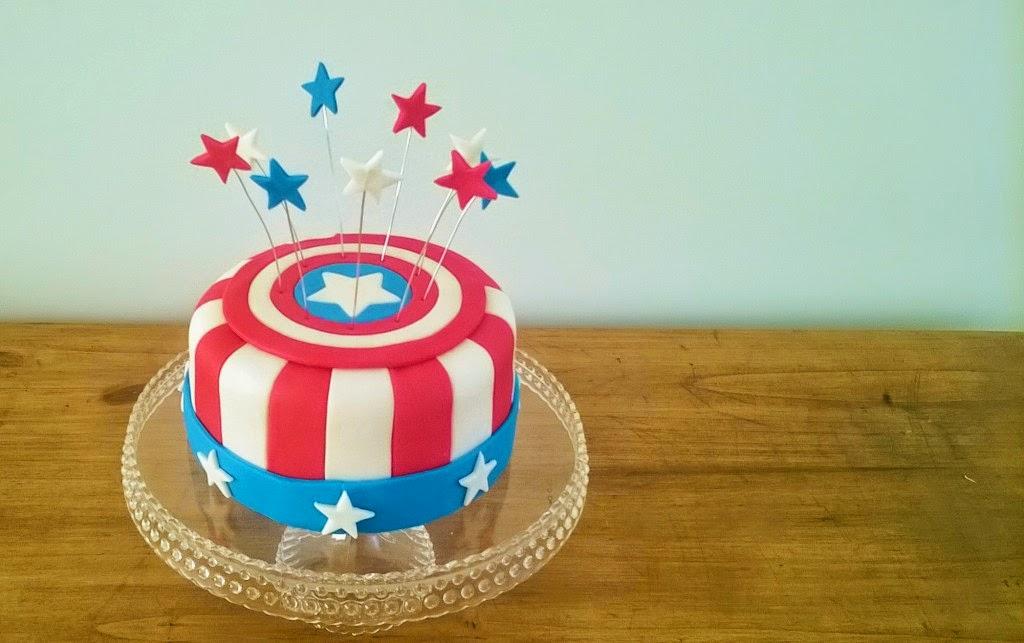 Tortas Capitan America, parte 1