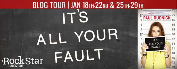 Blog Tour/Interview: It's All Your Fault + Giveaway
