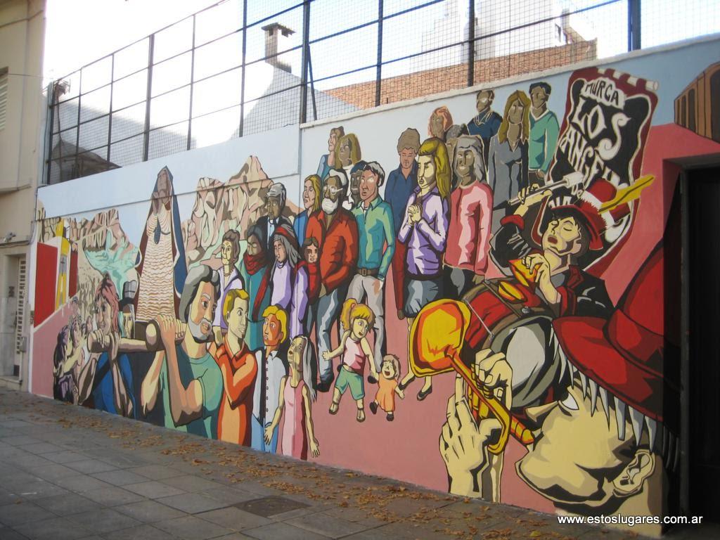 Estos lugares recoleta muro p blico for Mural nuestra carne