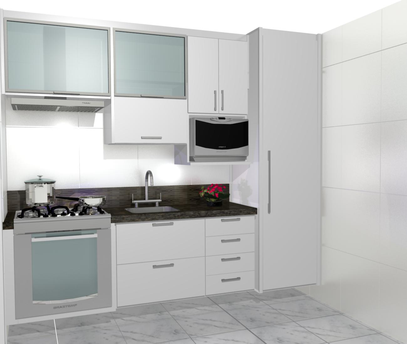 cozinha planejadas pequenas decorada americana modulada luxo moderna  #633F42 1300 1100