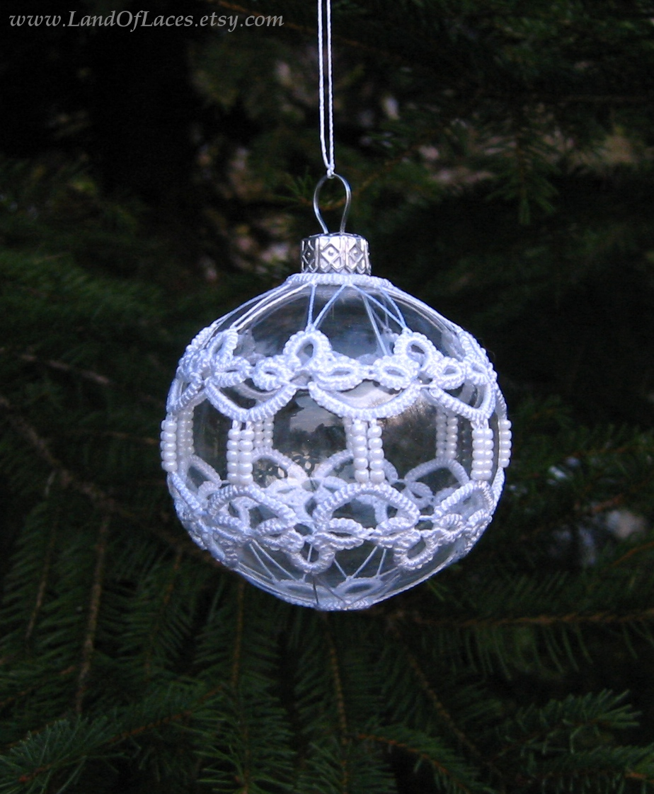 https://www.etsy.com/listing/168145610/clear-glass-ball-with-tatted-lace