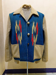 40's GANSCRAFT CHIMAYO JACKET