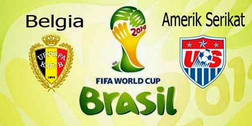 Hasil Skor Akhir: Belgia vs Amerika Serikat 16 Besar Piala Dunia (Rabu, 2 Juli 2014)